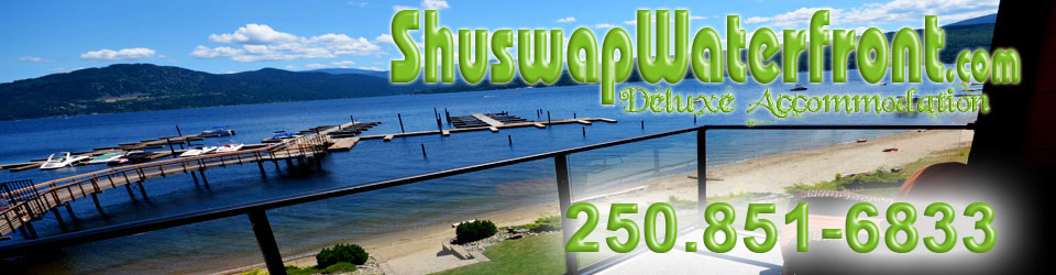 Shuswap Waterfront Waterfront Vacation Rentals In The Shuswap